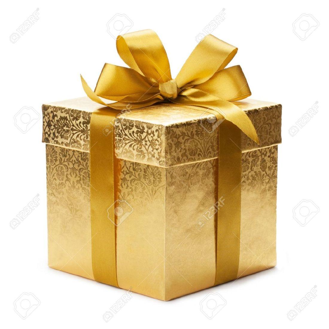 20451784-coffret-cadeau-et-un-ruban-d-or-isolé-sur-fond-blanc